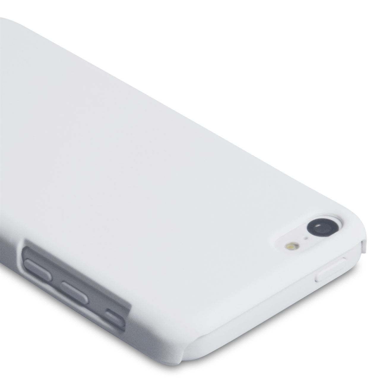 YouSave Accessories iPhone 5C Hard Hybrid Case - White