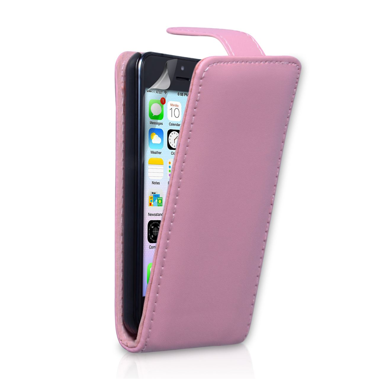 pink iphone 5c case yousave iphone 5c flip baby pink mobile madhou 15865