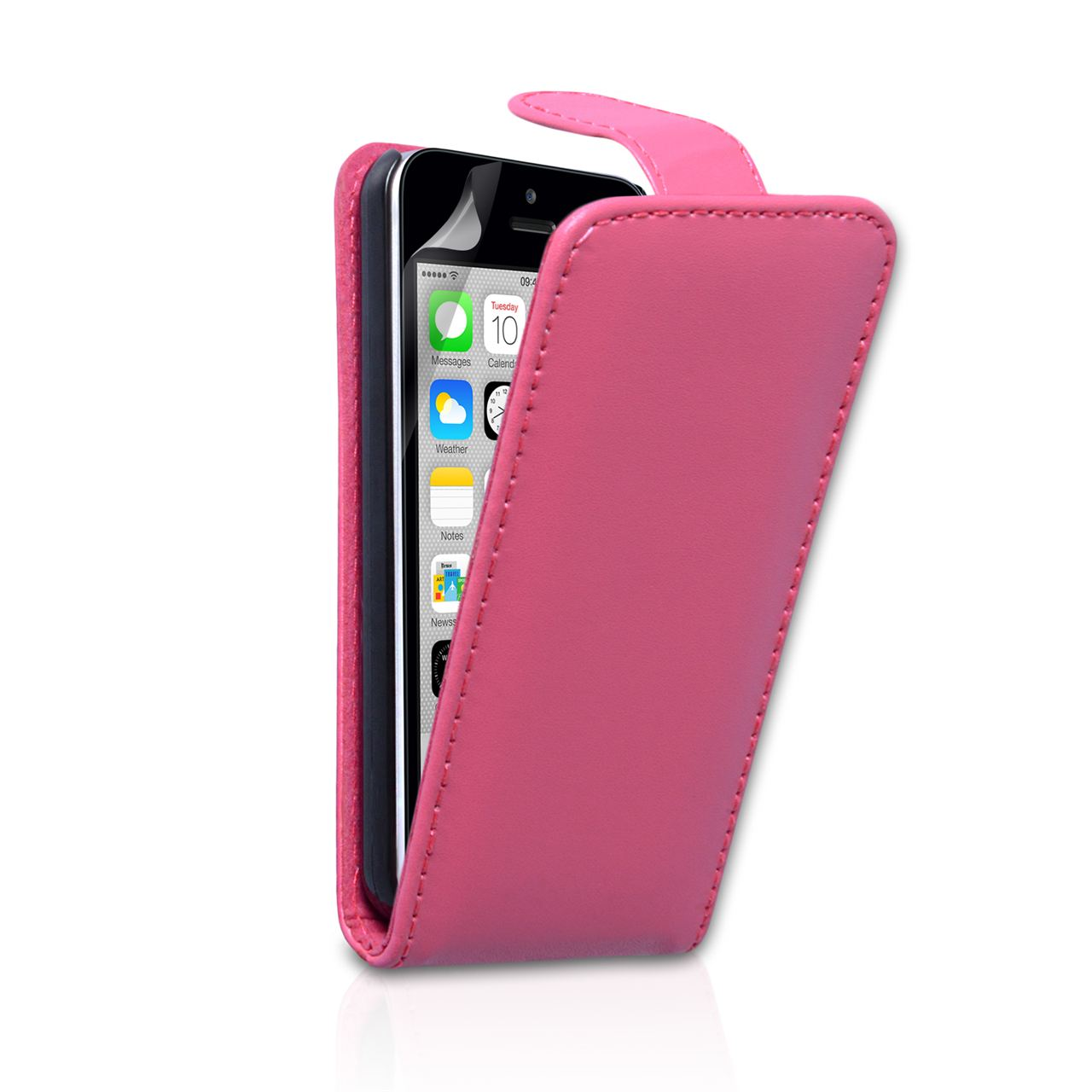 iphone 5c wallet case yousave accessories iphone 5c leather effect flip 14714