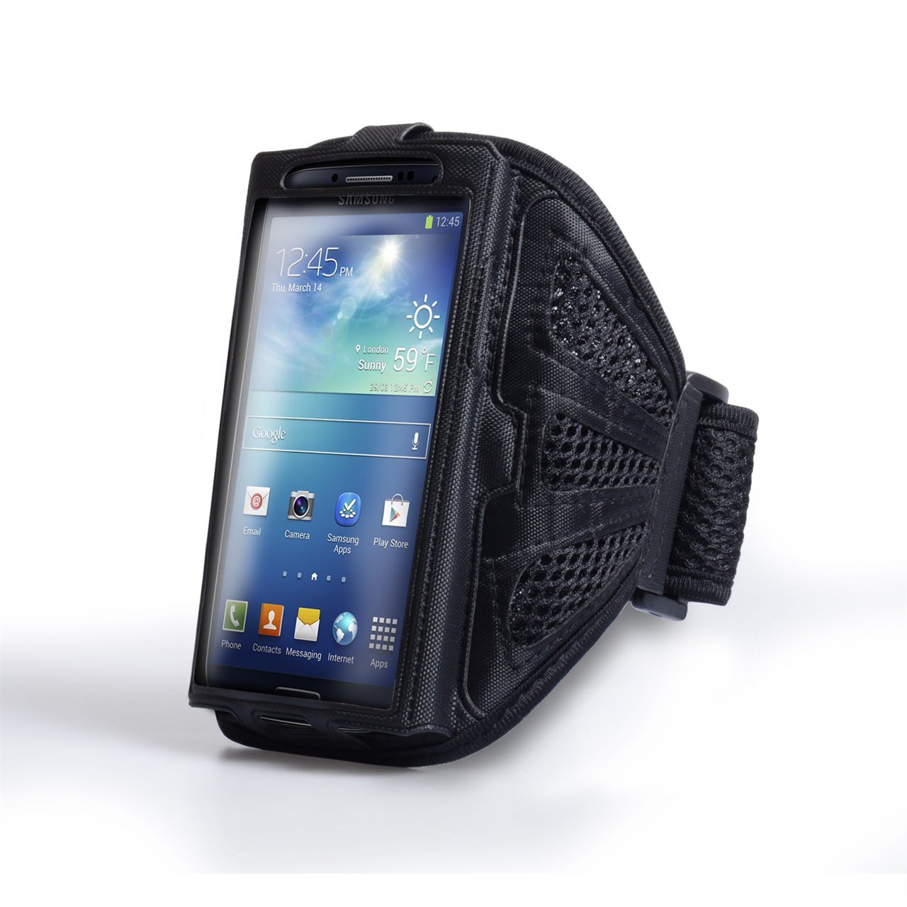 YouSave Accessories Medium Sports Armband - Black
