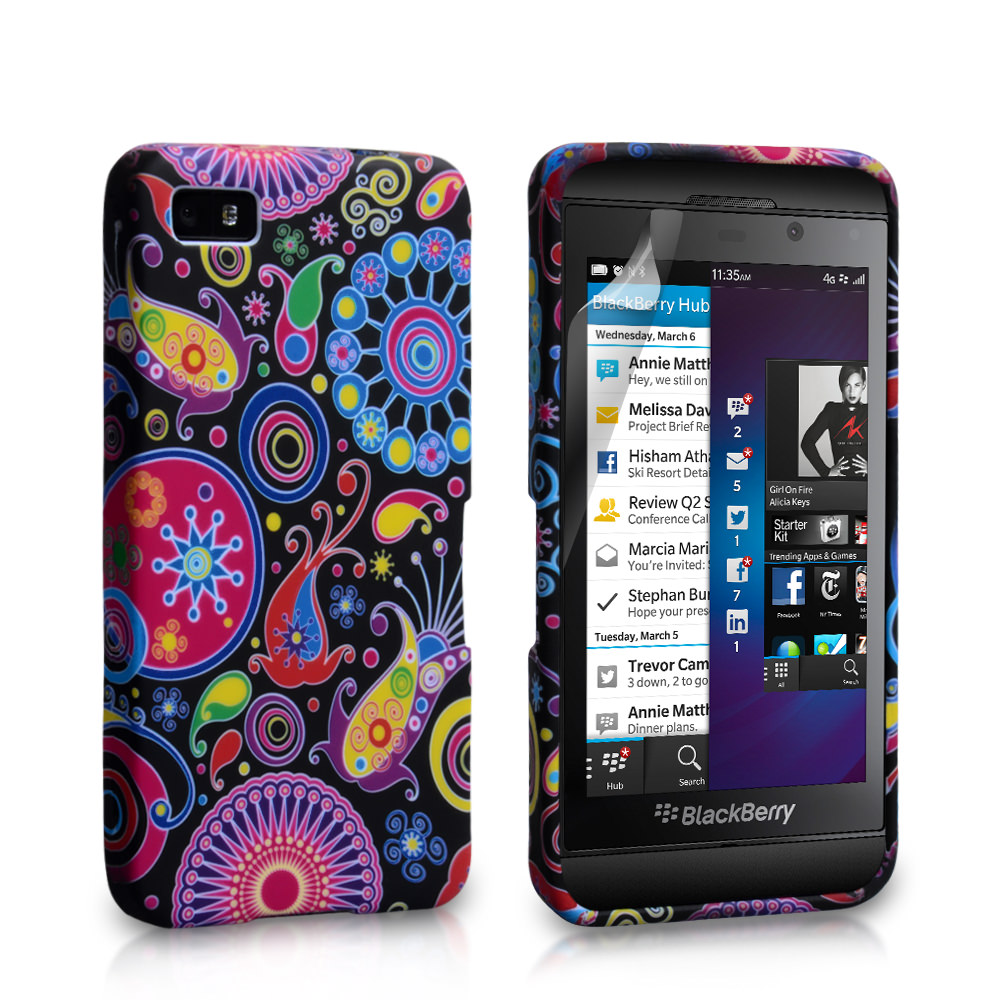 YouSave Accessories Blackberry Z10 Jellyfish Silicone Gel Case