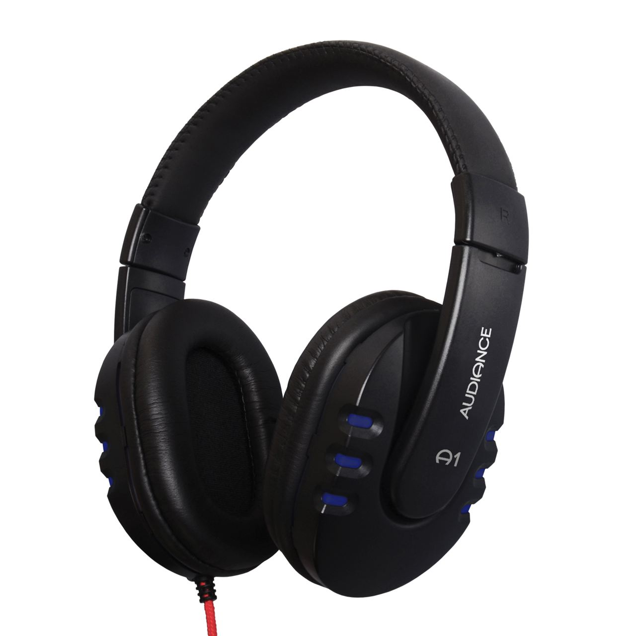 Audiance A1 Over Ear Headphones - Black/Blue