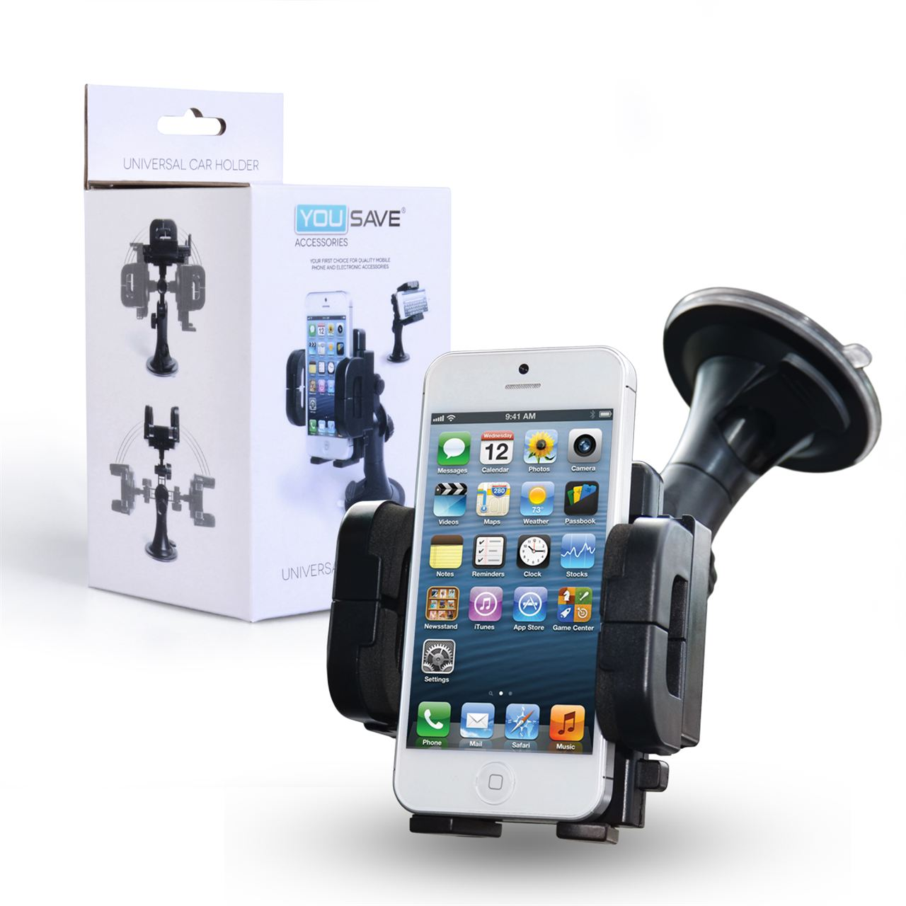YouSave Accessories Universal Car Phone Holder