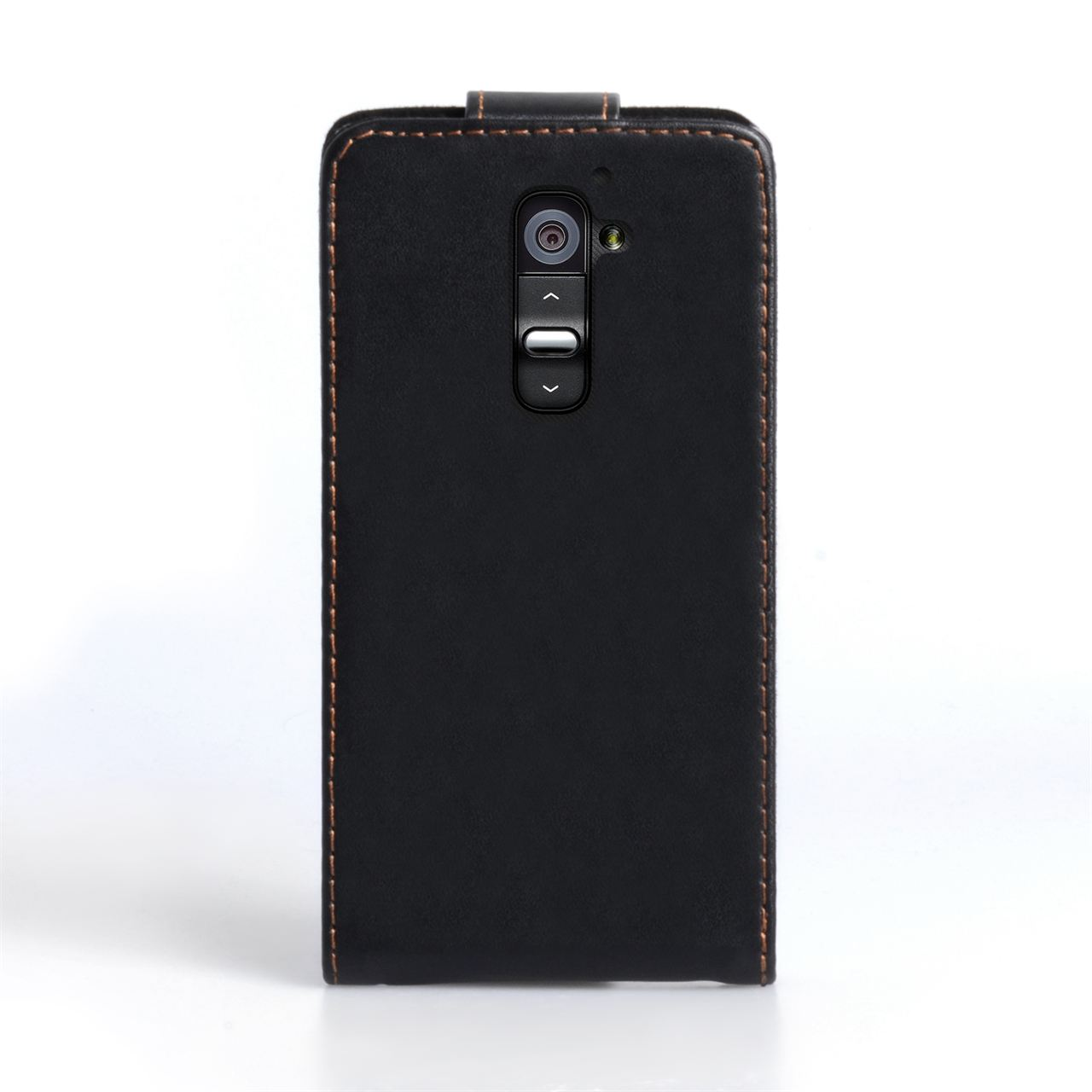 YouSave Accessories LG G2 Black Leather Effect Flip Case