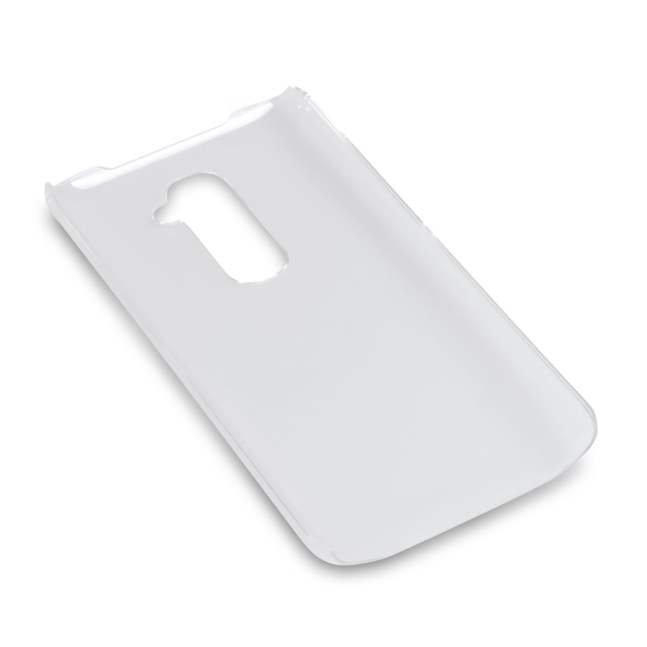 YouSave Accessories LG G2 Hard Case - Crystal Clear