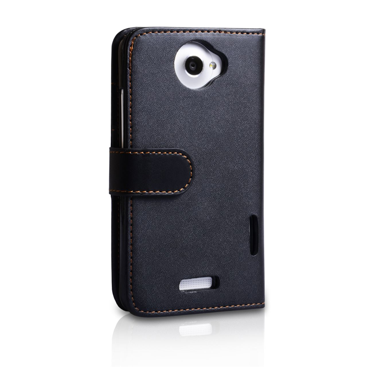 YouSave Accessories HTC One X Leather-Effect Wallet Case - Black
