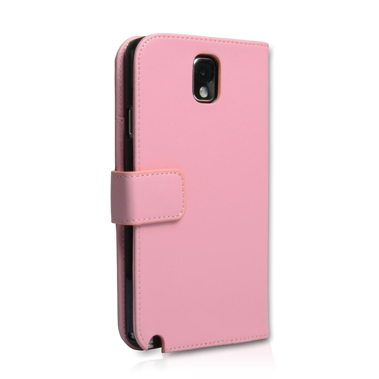 YouSave Samsung Galaxy Note 3 Leather Effect Wallet Case - Baby Pink
