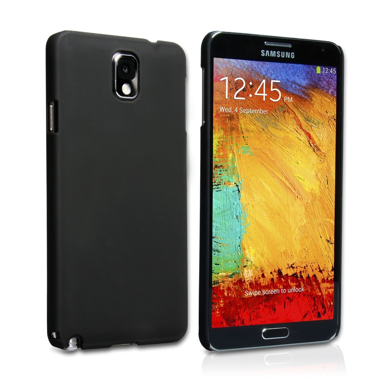 YouSave Accessories Samsung Galaxy Note 3 Hybrid Case - Black
