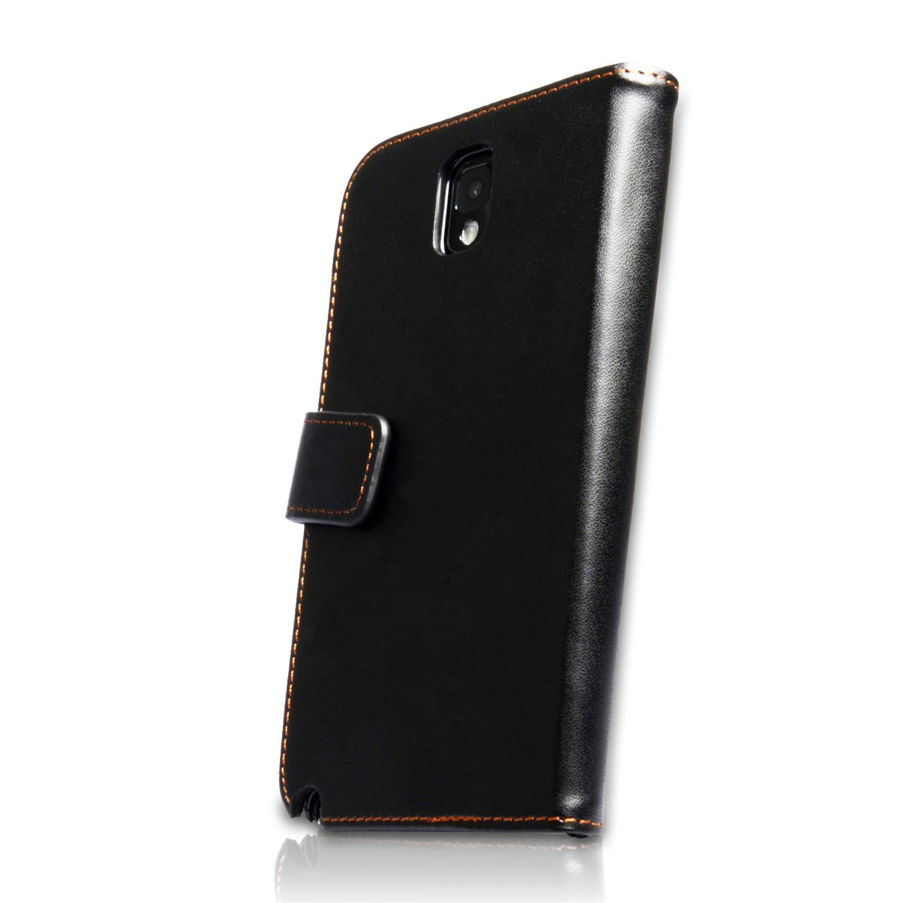 YouSave Samsung Galaxy Note 3 Leather Effect Wallet Case - Black