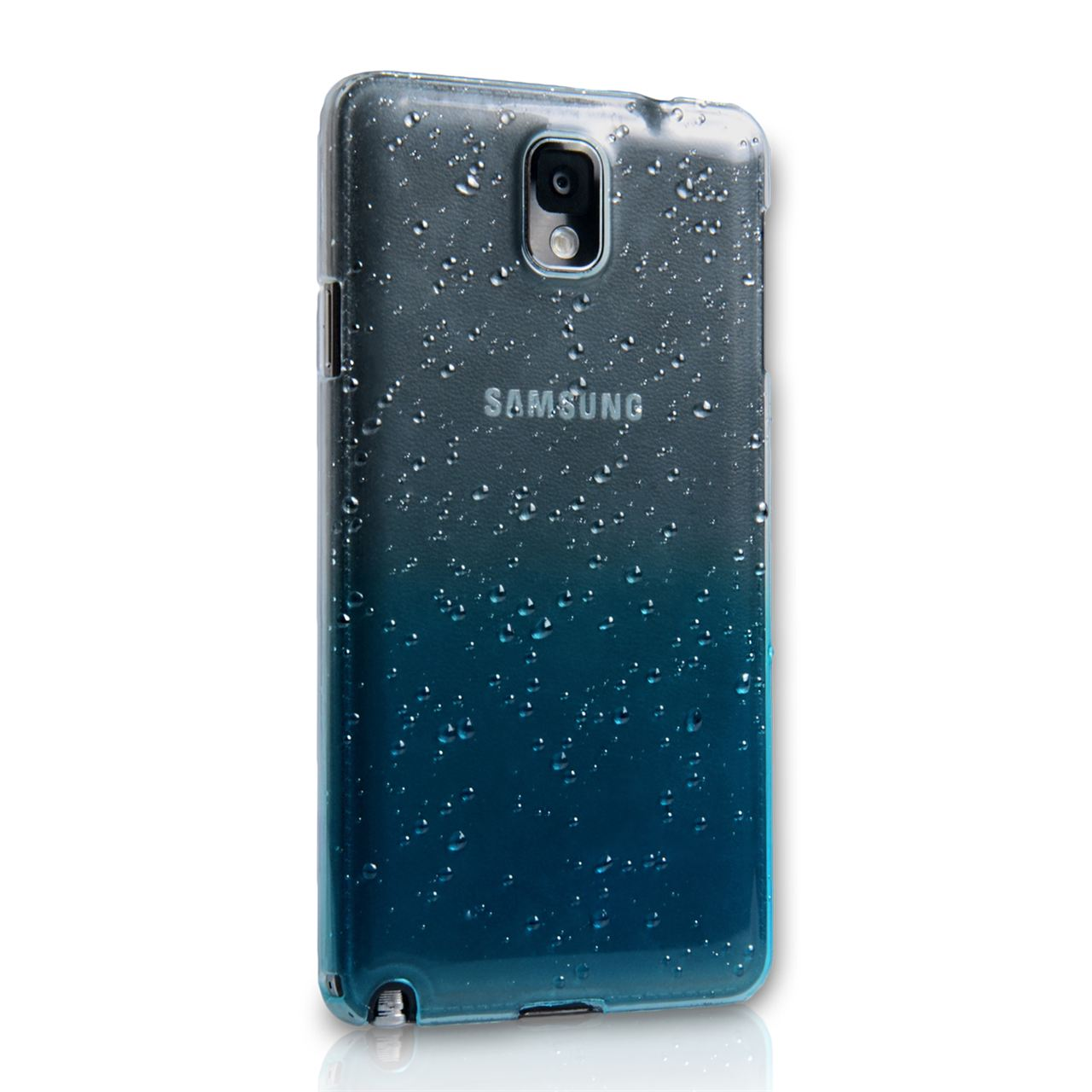 YouSave Accessories Samsung Galaxy Note 3 Waterdrop Hard Case - Blue
