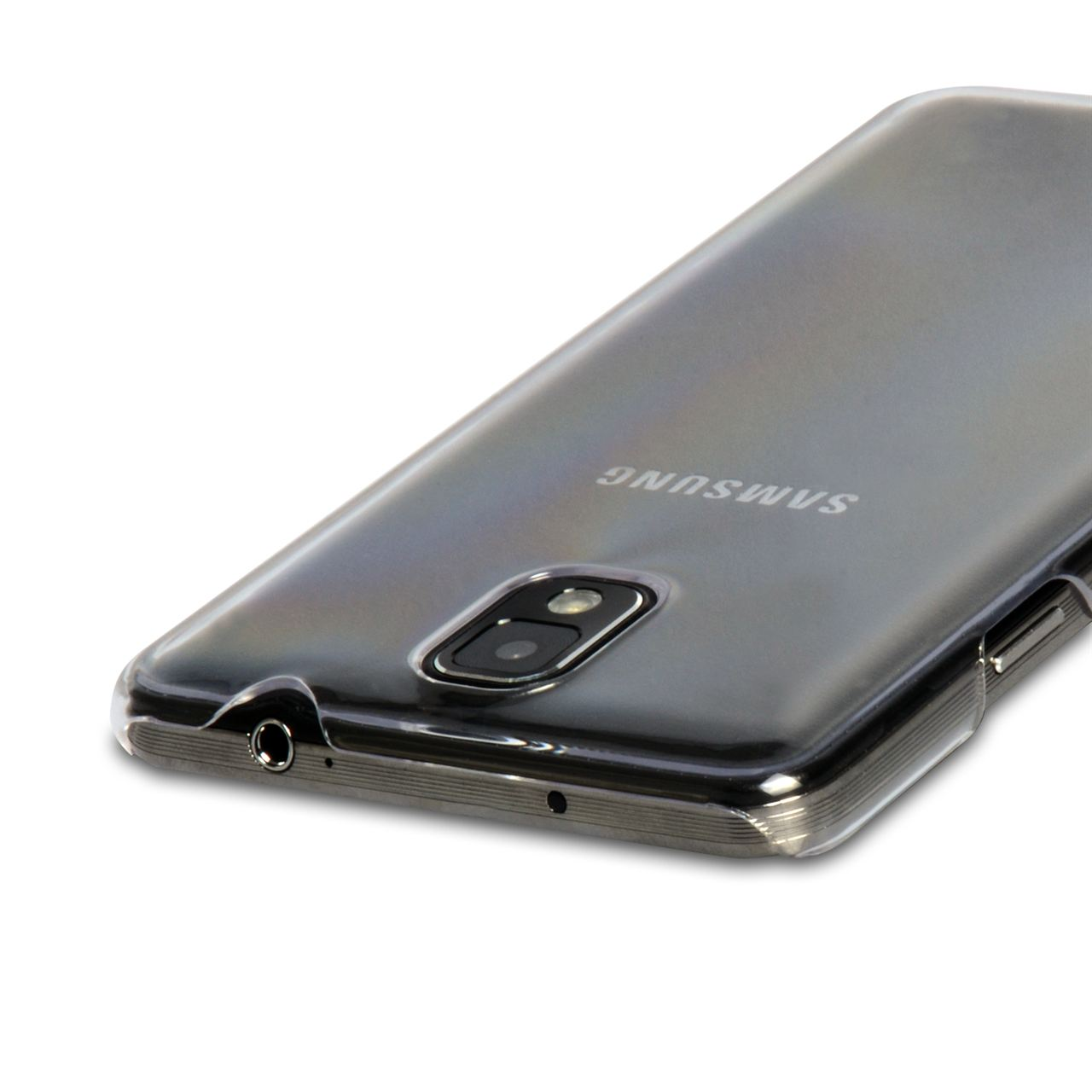 YouSave Accessories Samsung Galaxy Note 3 Crystal Clear Hard Case