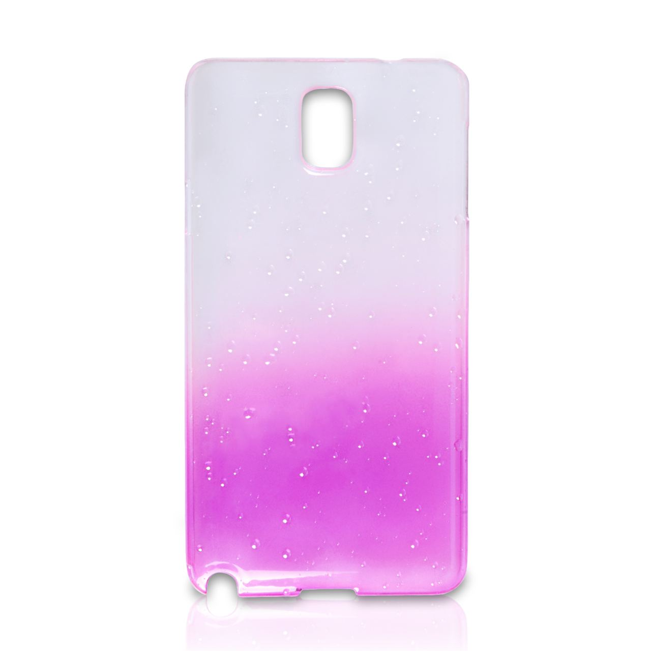 YouSave Accessories Samsung Galaxy Note 3 Waterdrop Hard Case - Purple
