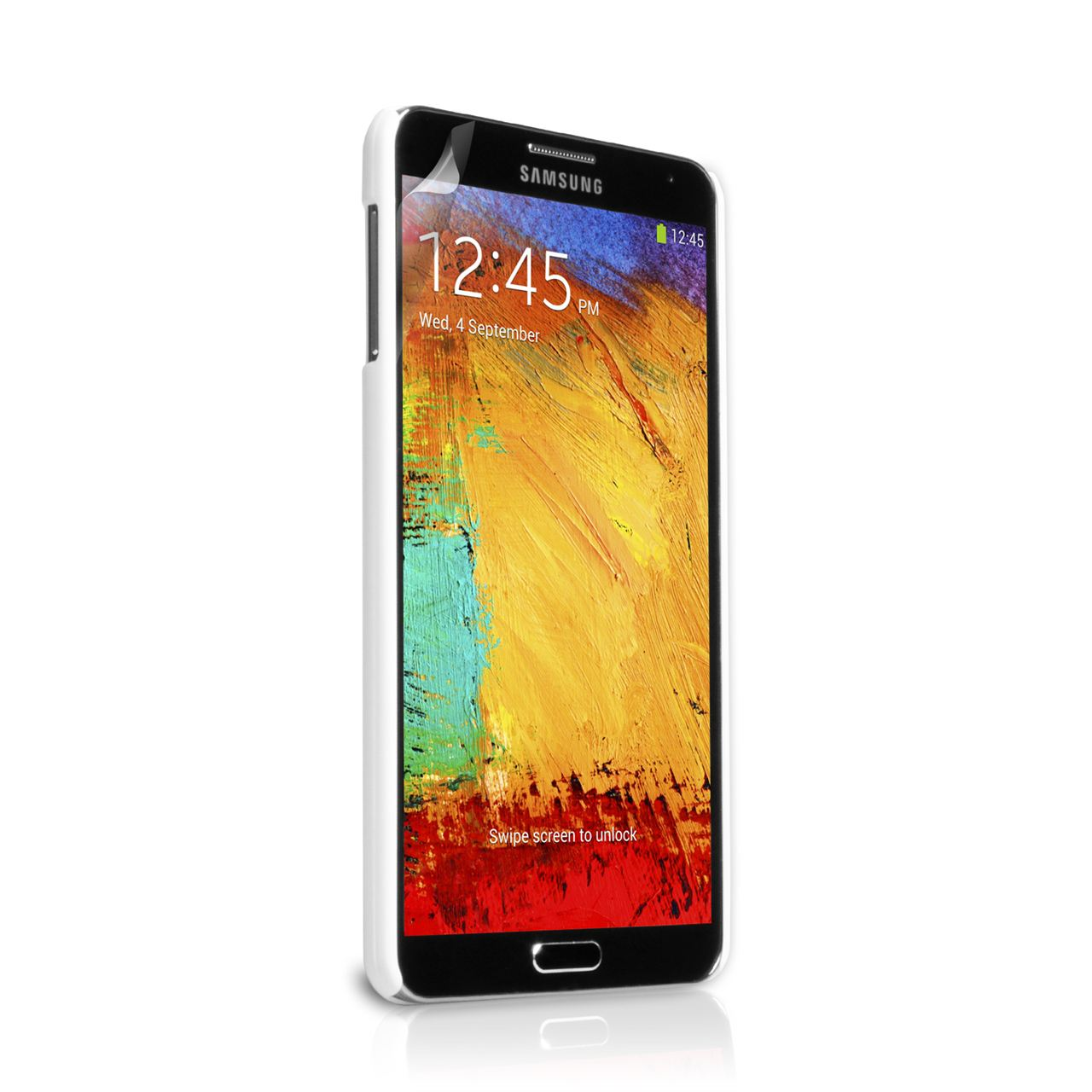 YouSave Accessories Samsung Galaxy Note 3 Hybrid Case - White