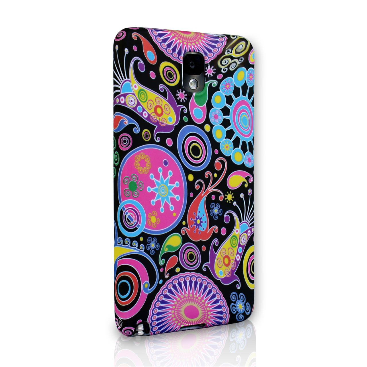 YouSave Accessories Samsung Galaxy Note 3 Jellyfish Silcone Gel Case