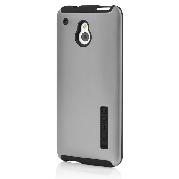 Incipio HTC One Mini Dual Pro Case - Silver / Black