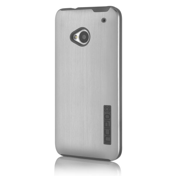HTC One Incipio Silver DualPro Shine Protective Case