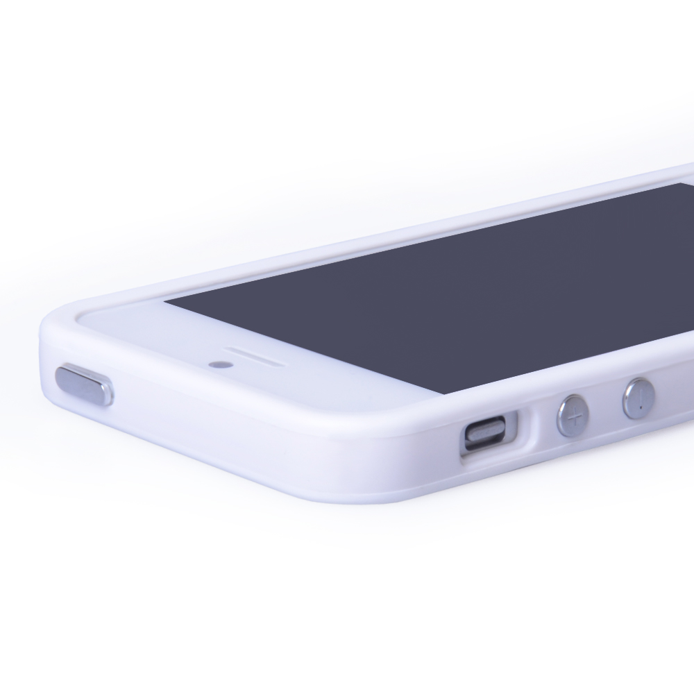 YouSave Accessories iPhone 5 / 5S White Bumper Case