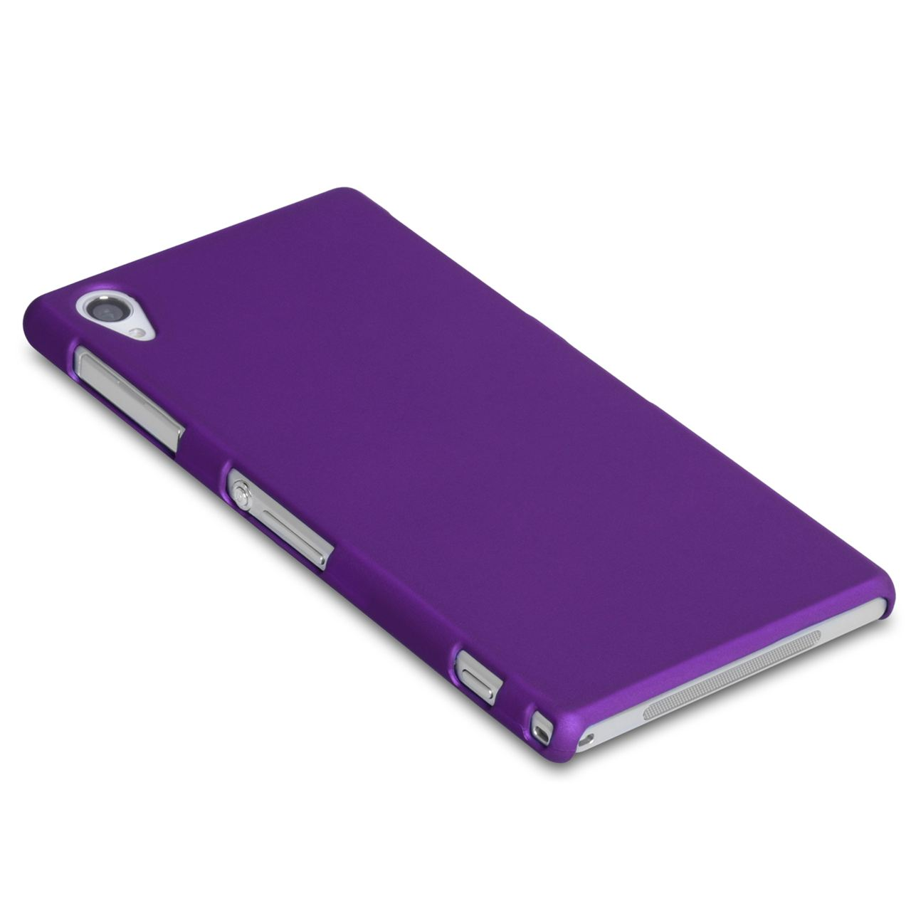 YouSave Accessories Sony Xperia Z1 Hard Hybrid Case - Purple