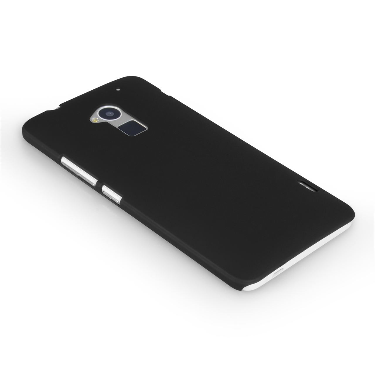 YouSave Accessories HTC One Max Hard Hybrid Case - Black