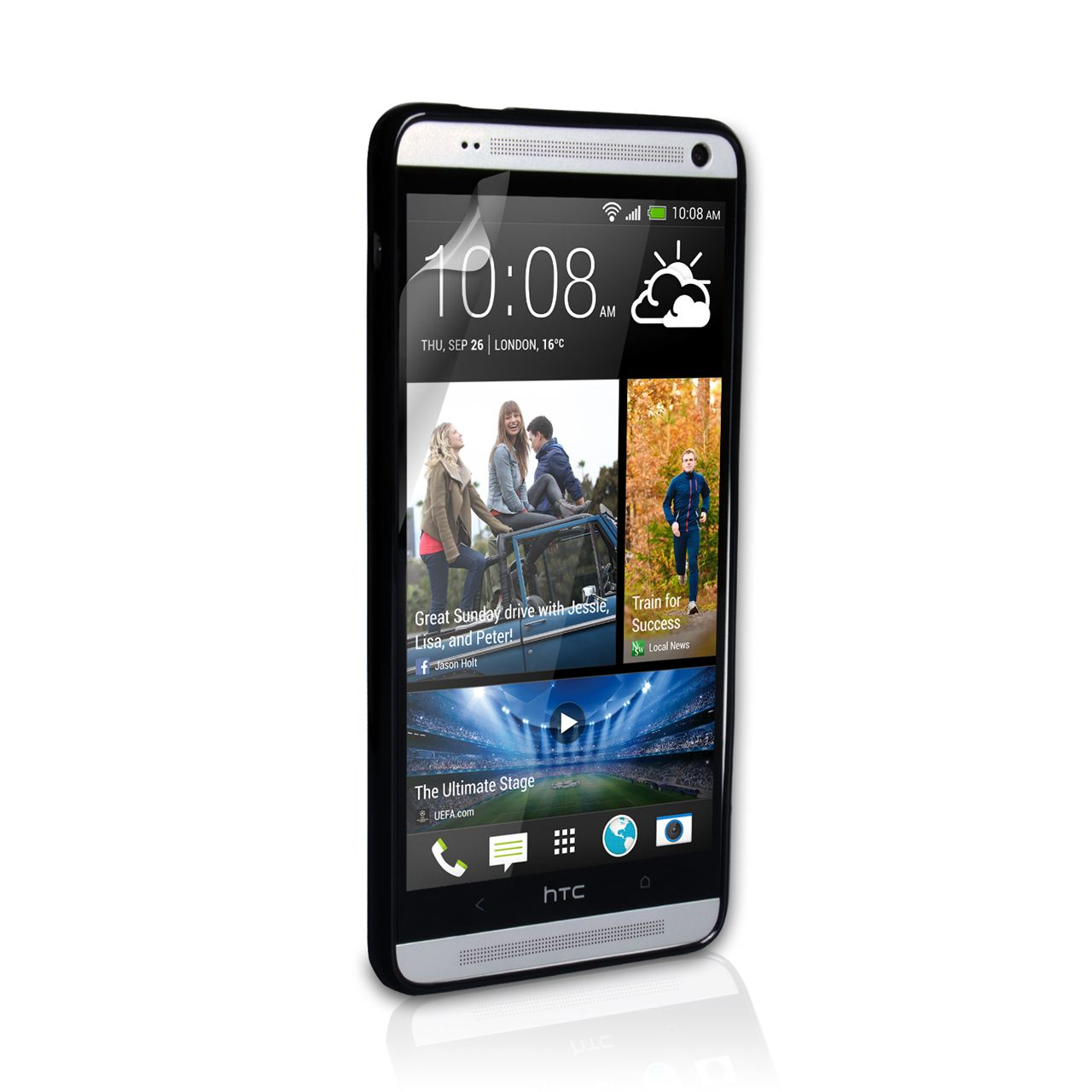 YouSave Accessories HTC One Max Gel Case - Black
