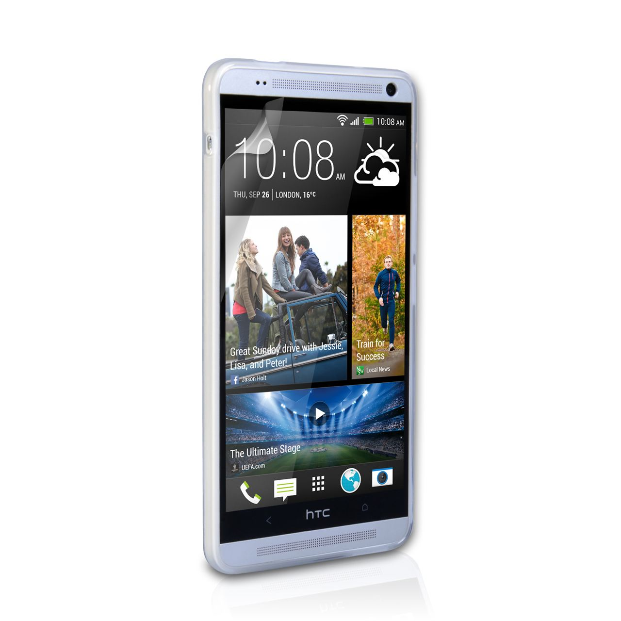 YouSave Accessories HTC One Max Gel Case - Clear