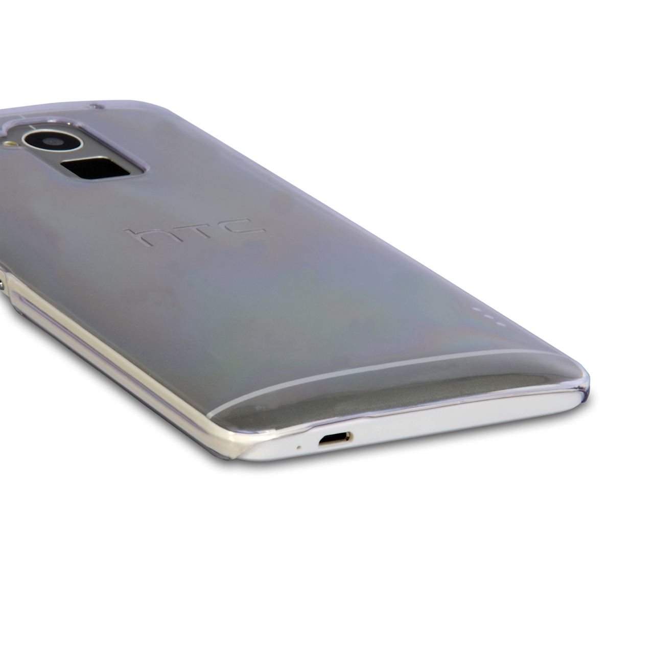 YouSave Accessories HTC One Max Hard Case - Clear