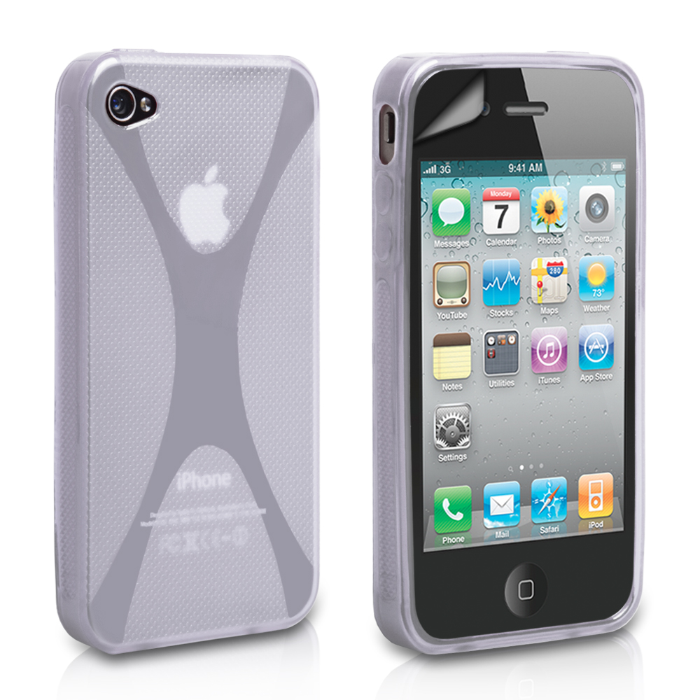 YouSave Accessories iPhone 4 / 4S X-Line Case - Clear