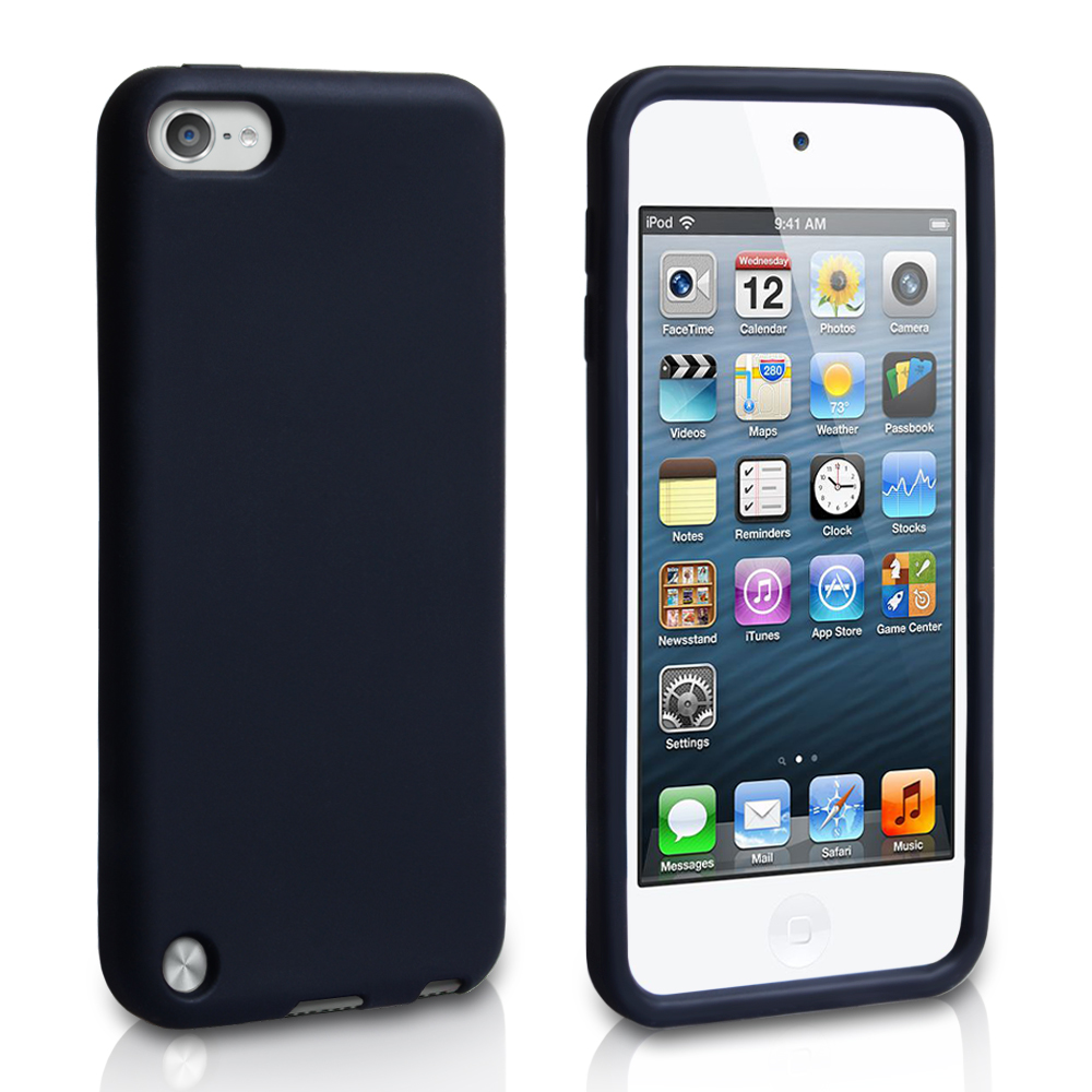 YouSave Accessories iPod Touch 5G Silicone Gel Case Black