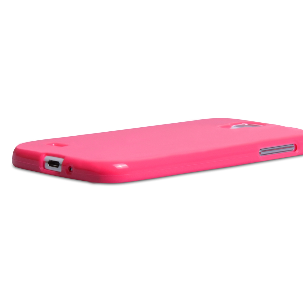 YouSave Accessories Samsung Galaxy S4 Pink Silicone Gel Case
