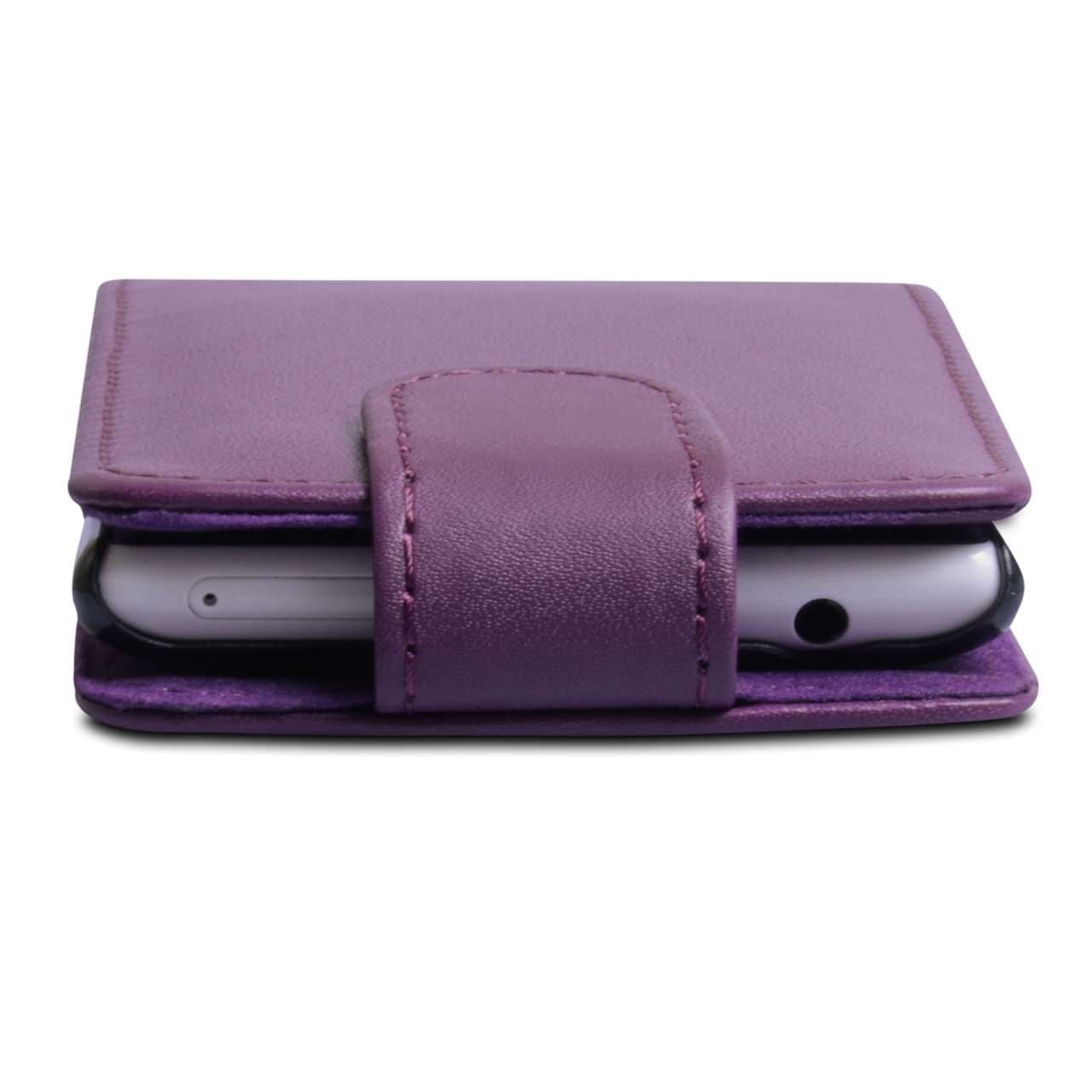 YouSave Accessories Nokia Lumia 720 Leather Effect Flip Case - Purple