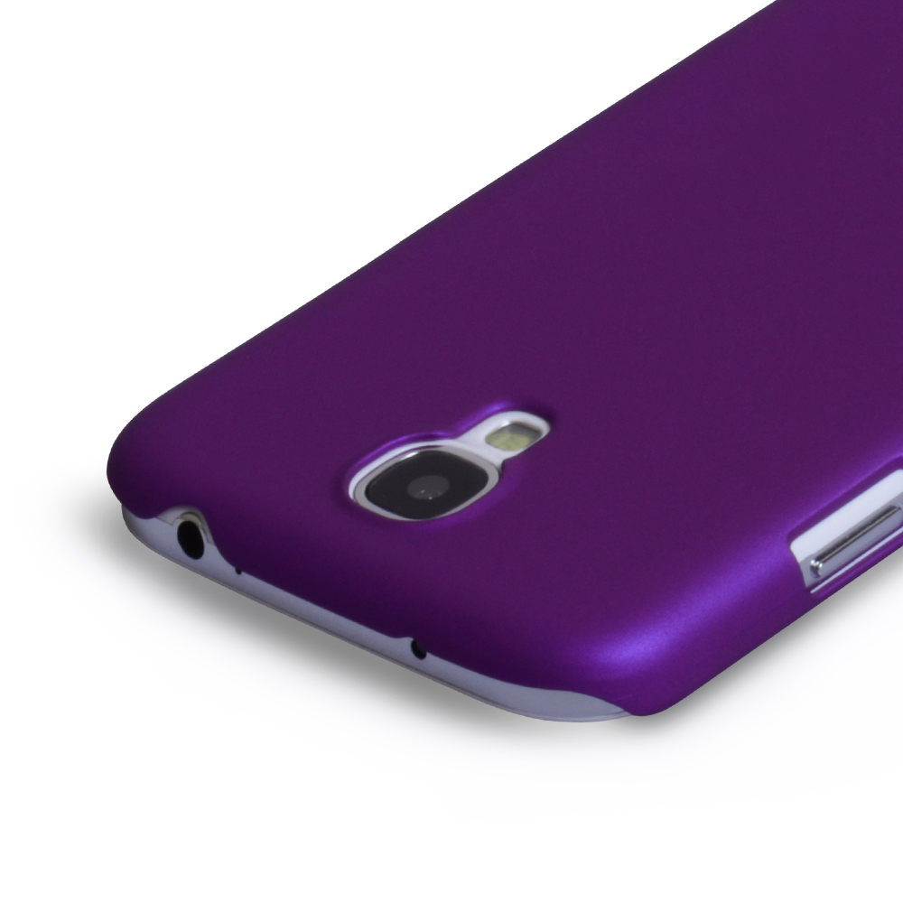 YouSave Accessories Samsung Galaxy S4 Hard Hybrid Case - Purple