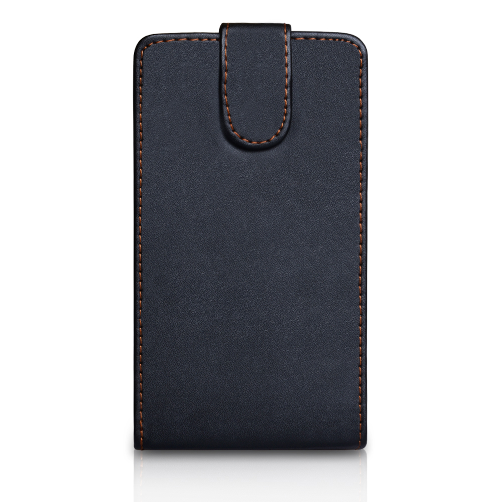 YouSave Samsung Galaxy Note 2 Leather Effect Flip Case - Black