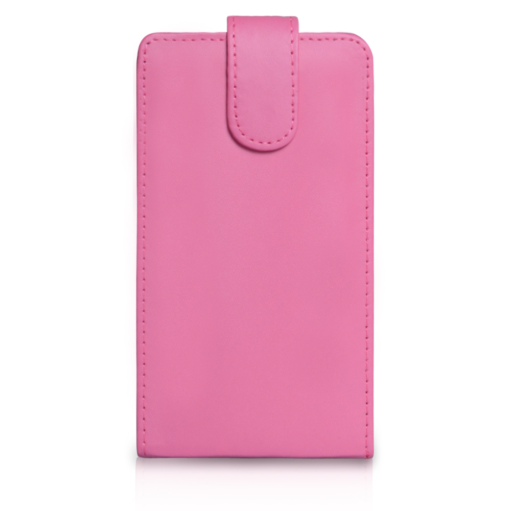 YouSave Accessories Samsung Galaxy Note 2 Leather Flip Case - Hot Pink