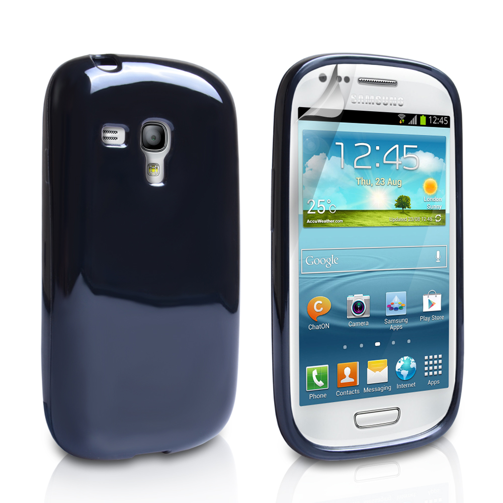 YouSave Accessories Samsung Galaxy S3 Mini Gel Case - Black