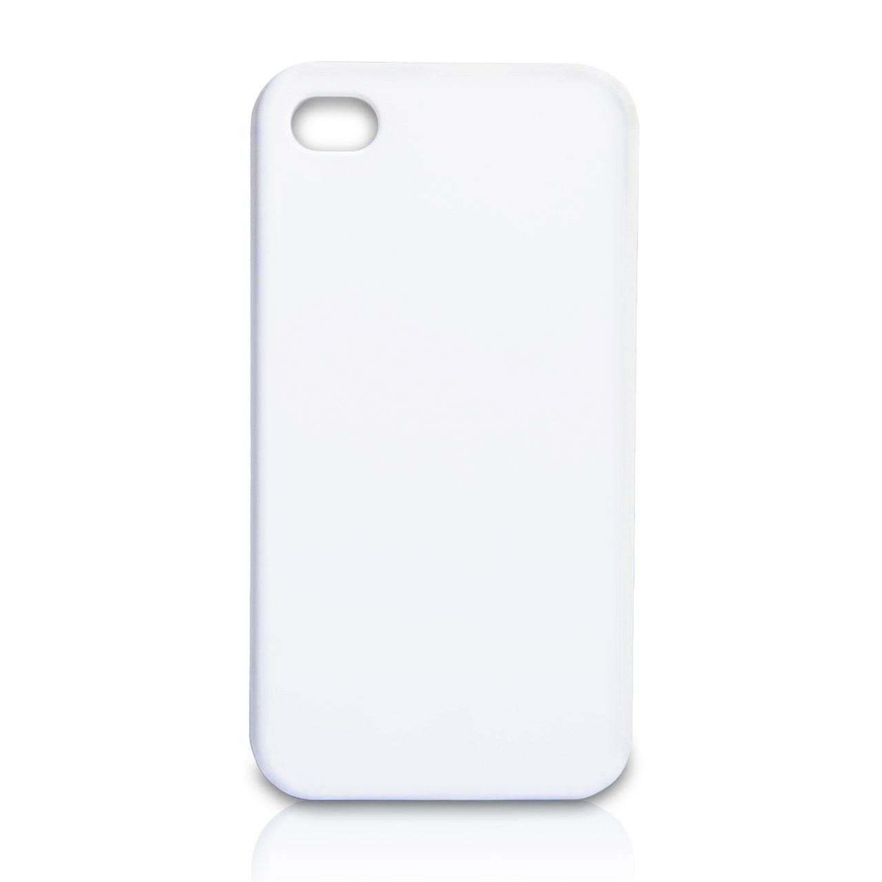 YouSave Accessories iPhone 4 / 4S Hard Hybrid Case - White