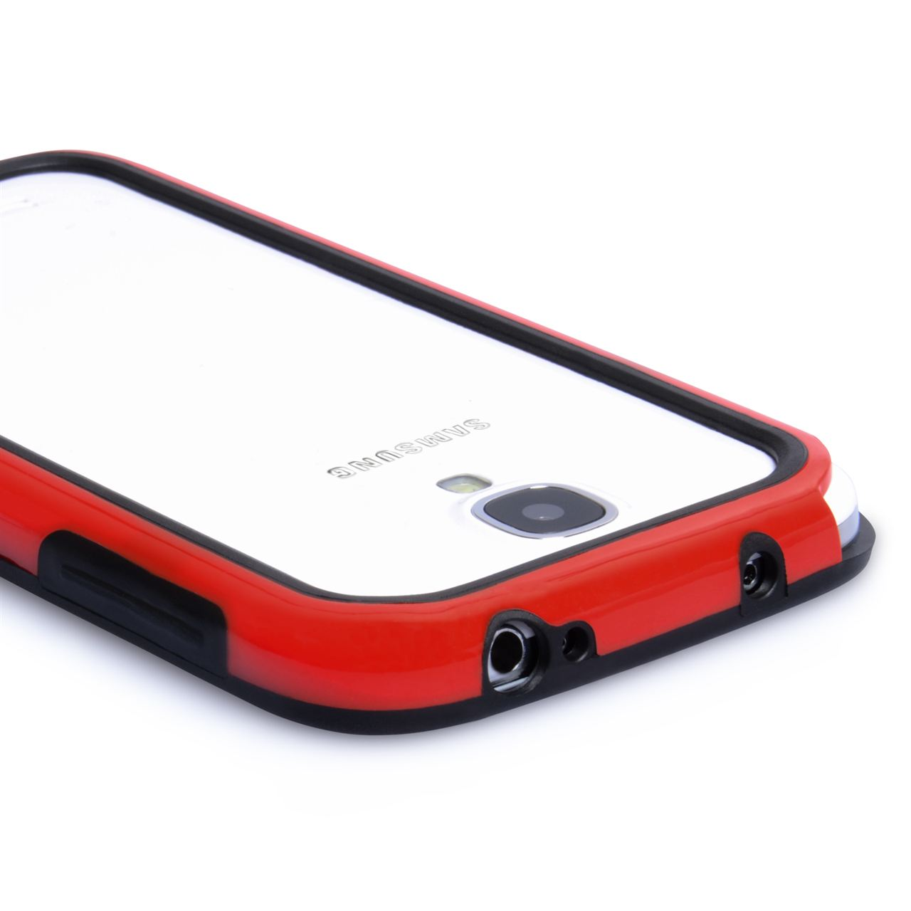 YouSave Accessories Samsung Galaxy S4 Bumper Case - Red