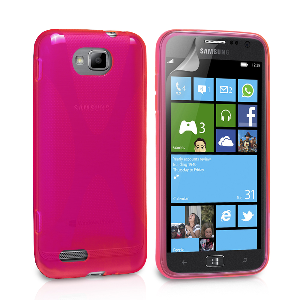 YouSave Accessories Samsung Ativ S X-Line Case - Hot Pink