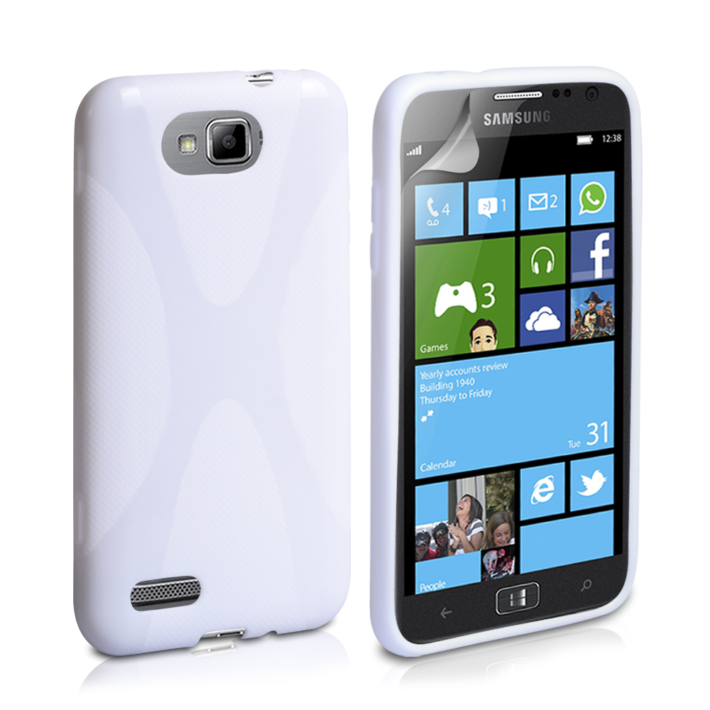 YouSave Accessories Samsung Ativ S X-Line Case White