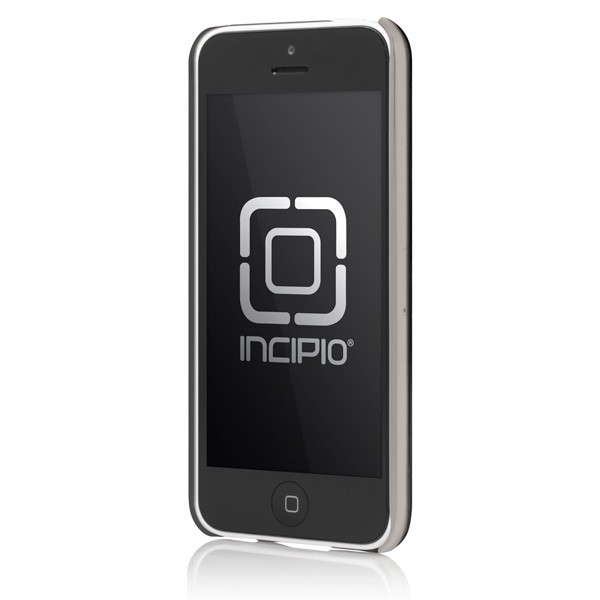 Incipio iPhone 5C Feather Shine Ultrathin Shell Case - Aluminium Black