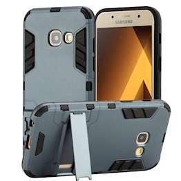 SAMSUNG GALAXY A3 (2017) ARMOUR KICKSTAND - BLUE