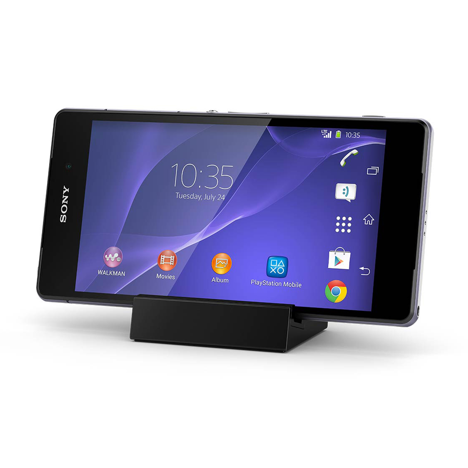 Official Sony Xperia Z2 Magnetic Charging Dock