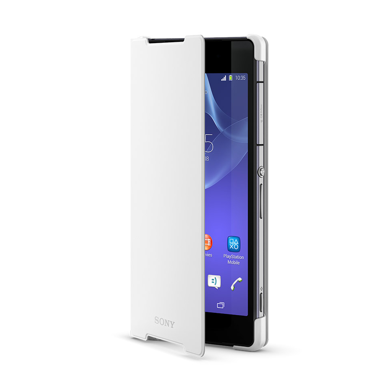 Official Sony Xperia Z2 Style Cover Stand – White