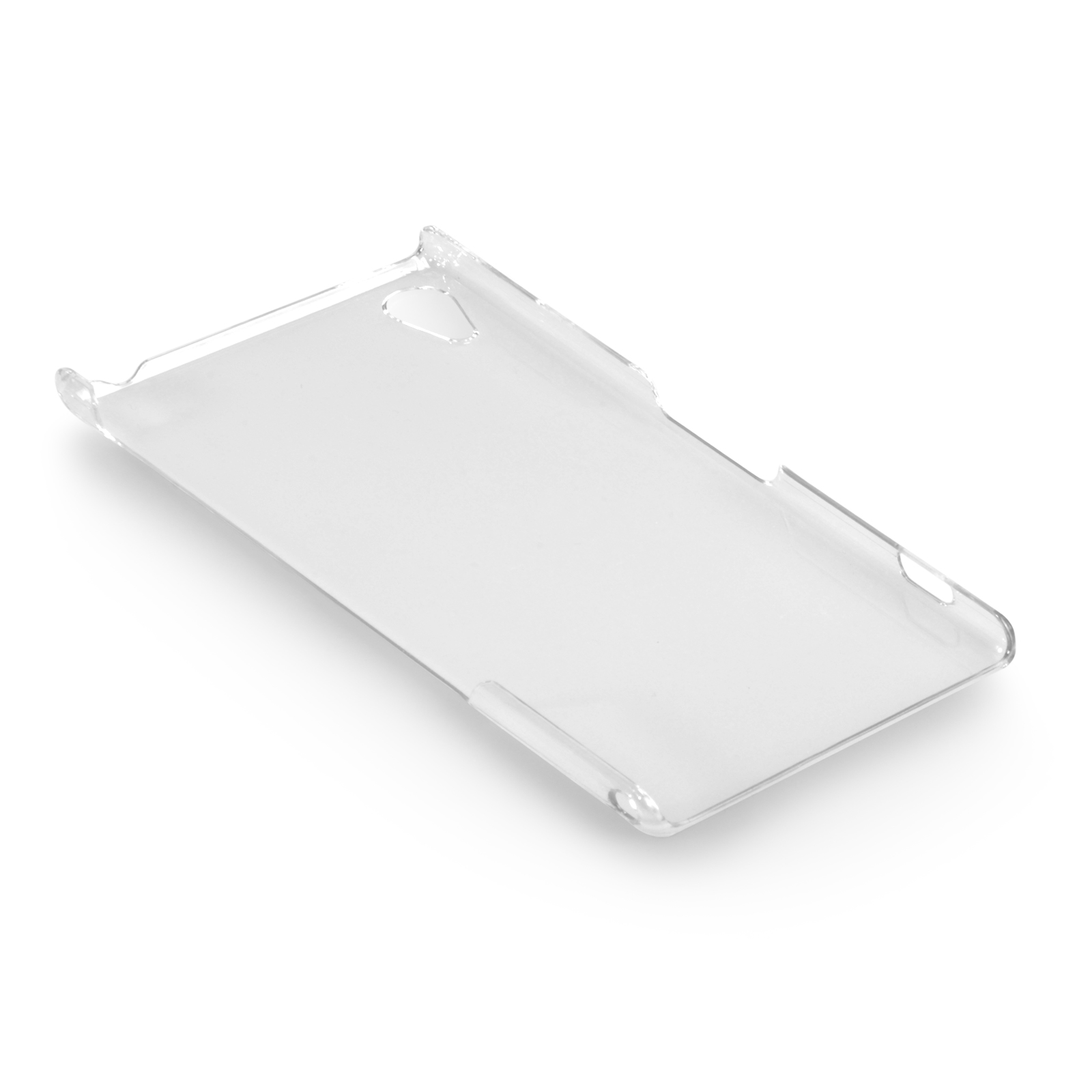 YouSave Accessories Sony Xperia Z2 Hard Case - Crystal Clear