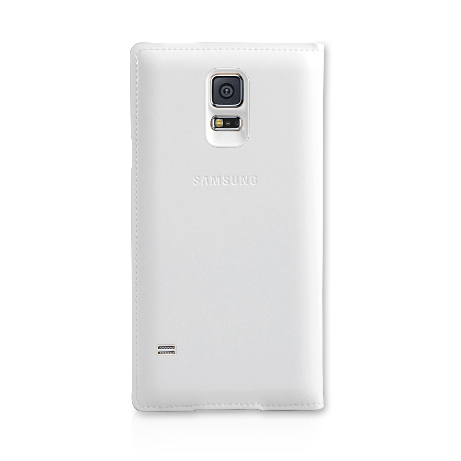 Official Samsung Galaxy S5 S View Cover - White