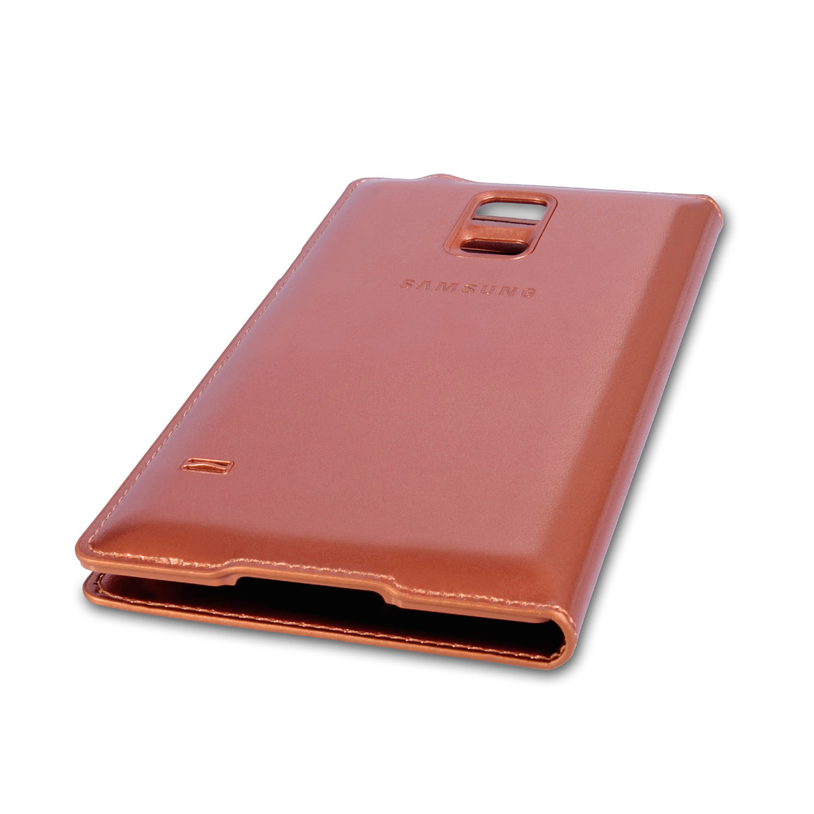 Official Samsung Galaxy S5 S View Cover - Rose Gold