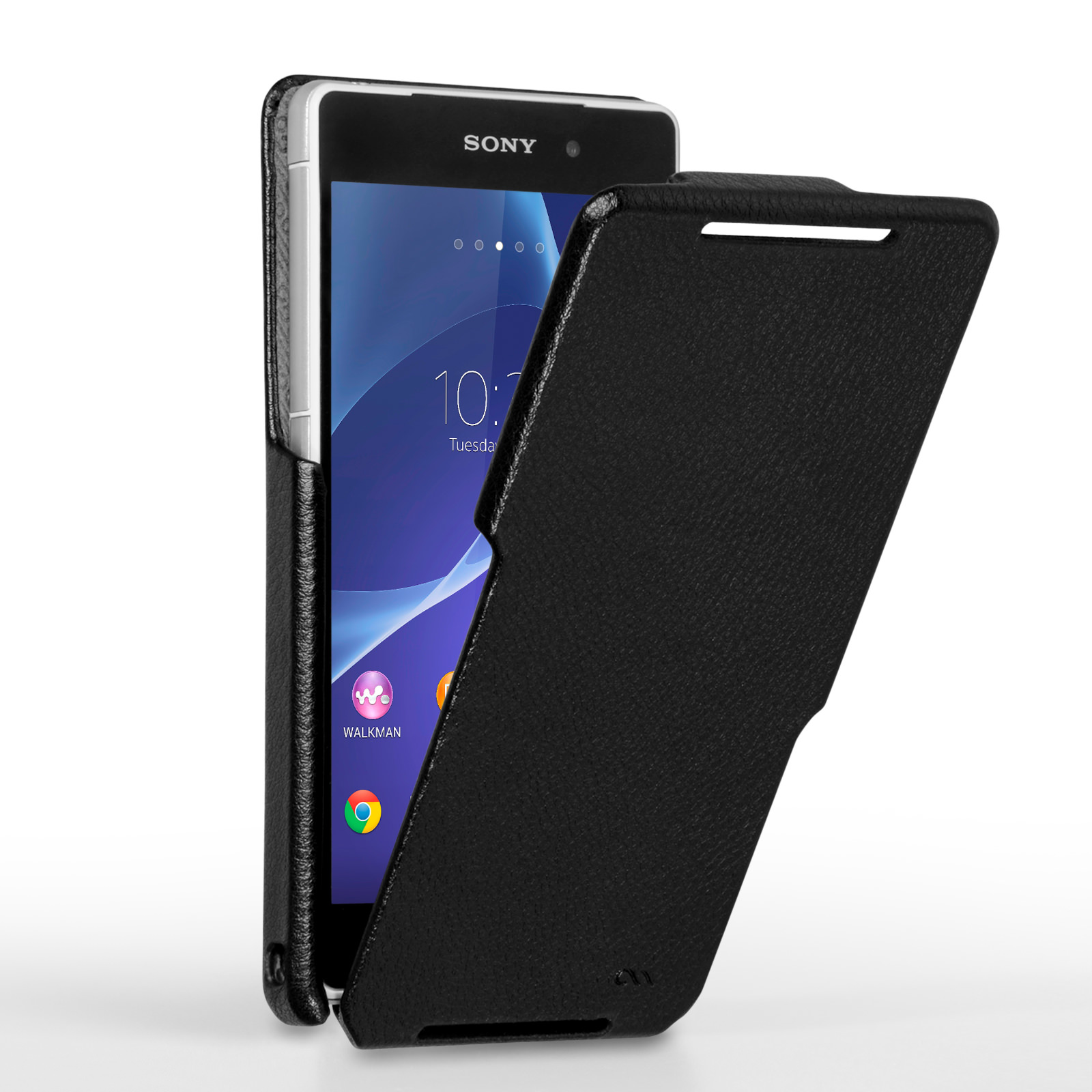Case Mate Signature Flip Case Sony Xperia Z2 - Black