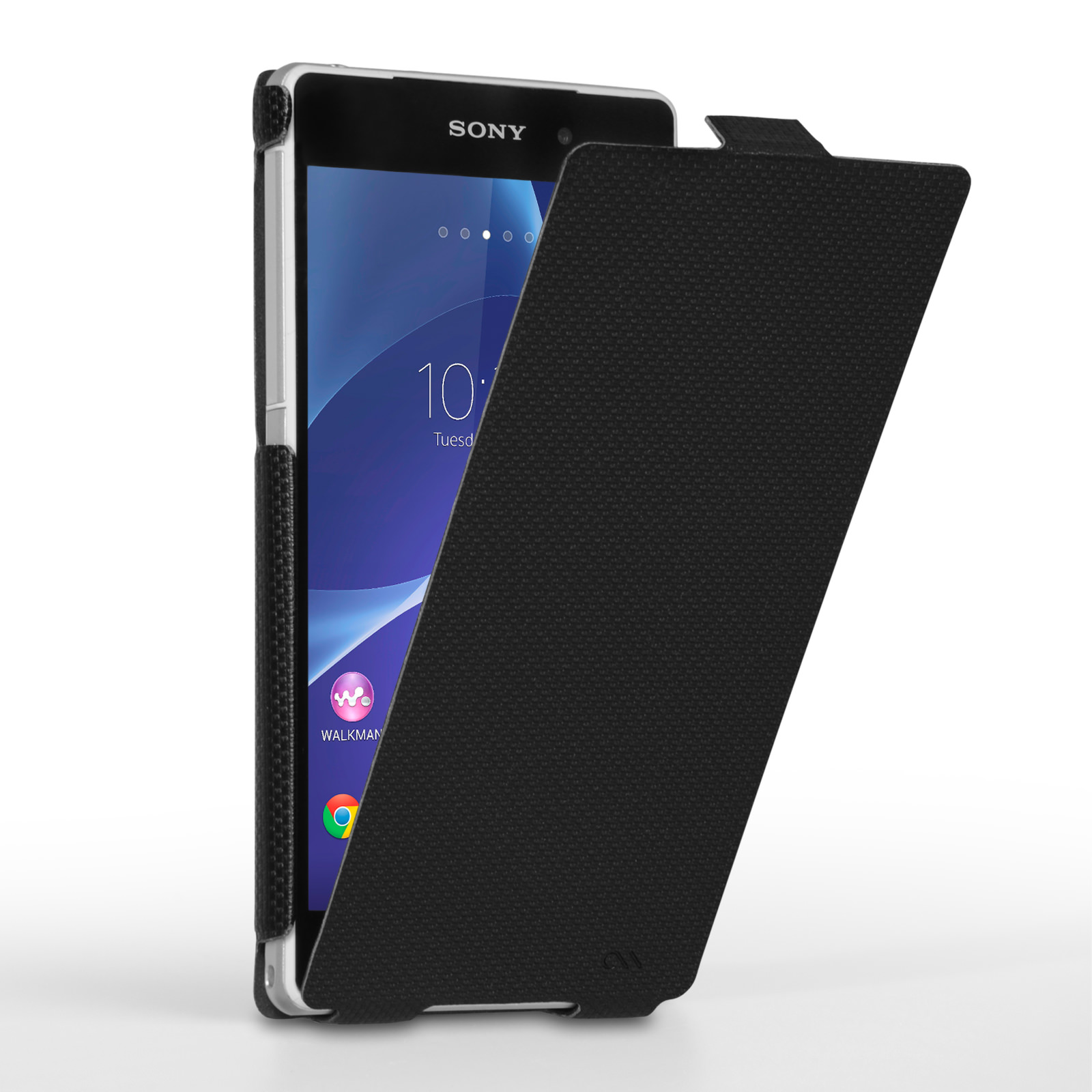 Case Mate Slim Flip Case Sony Xperia Z2 - Black
