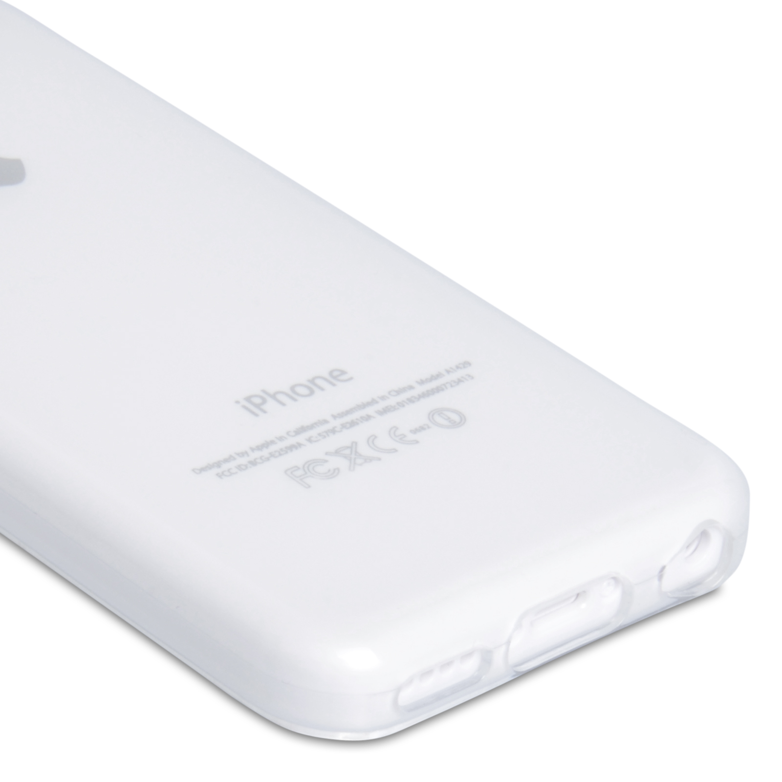 YouSave Accessories iPhone 5C Gel Case - Clear