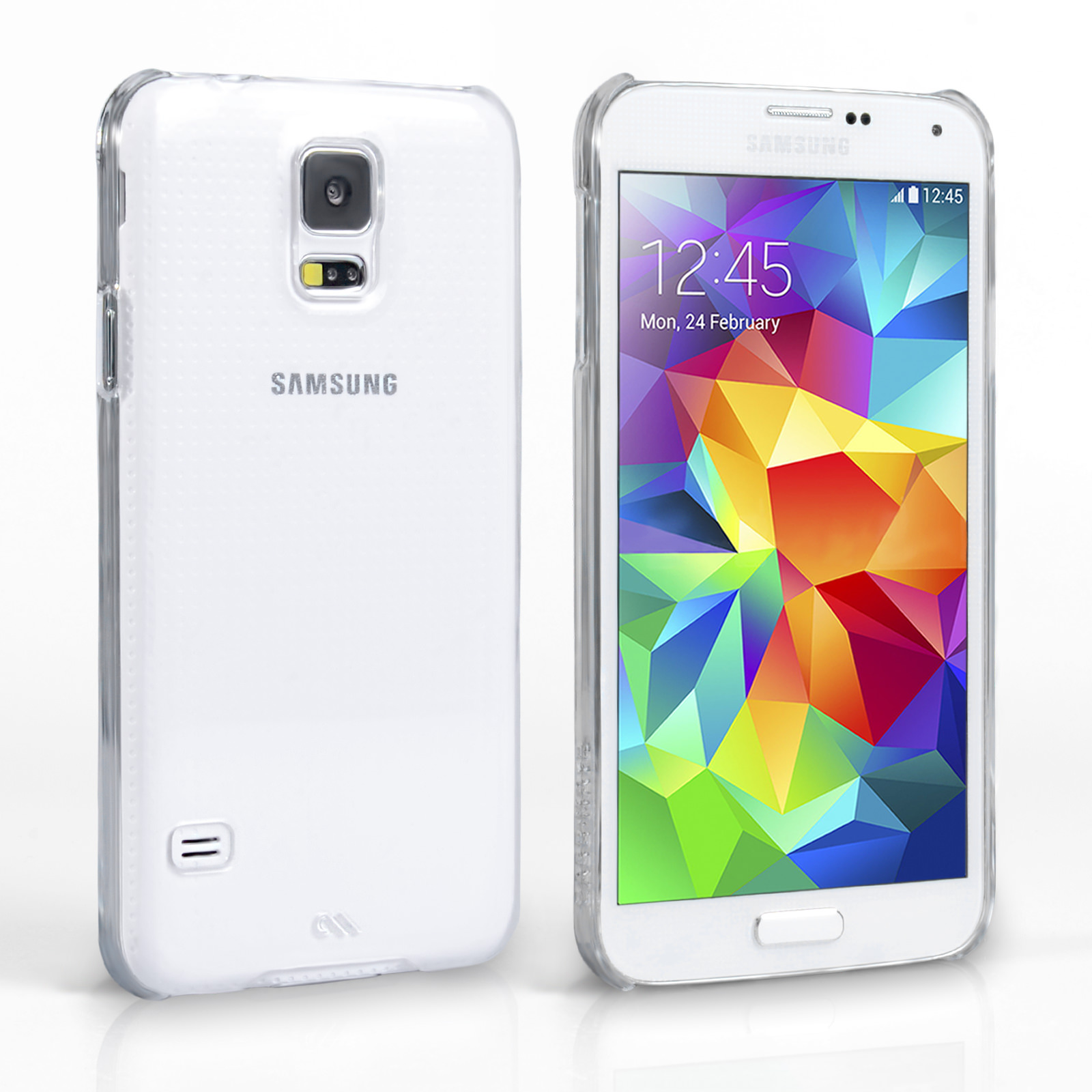 Case Mate Samsung Galaxy S5 Barely There Case - Clear