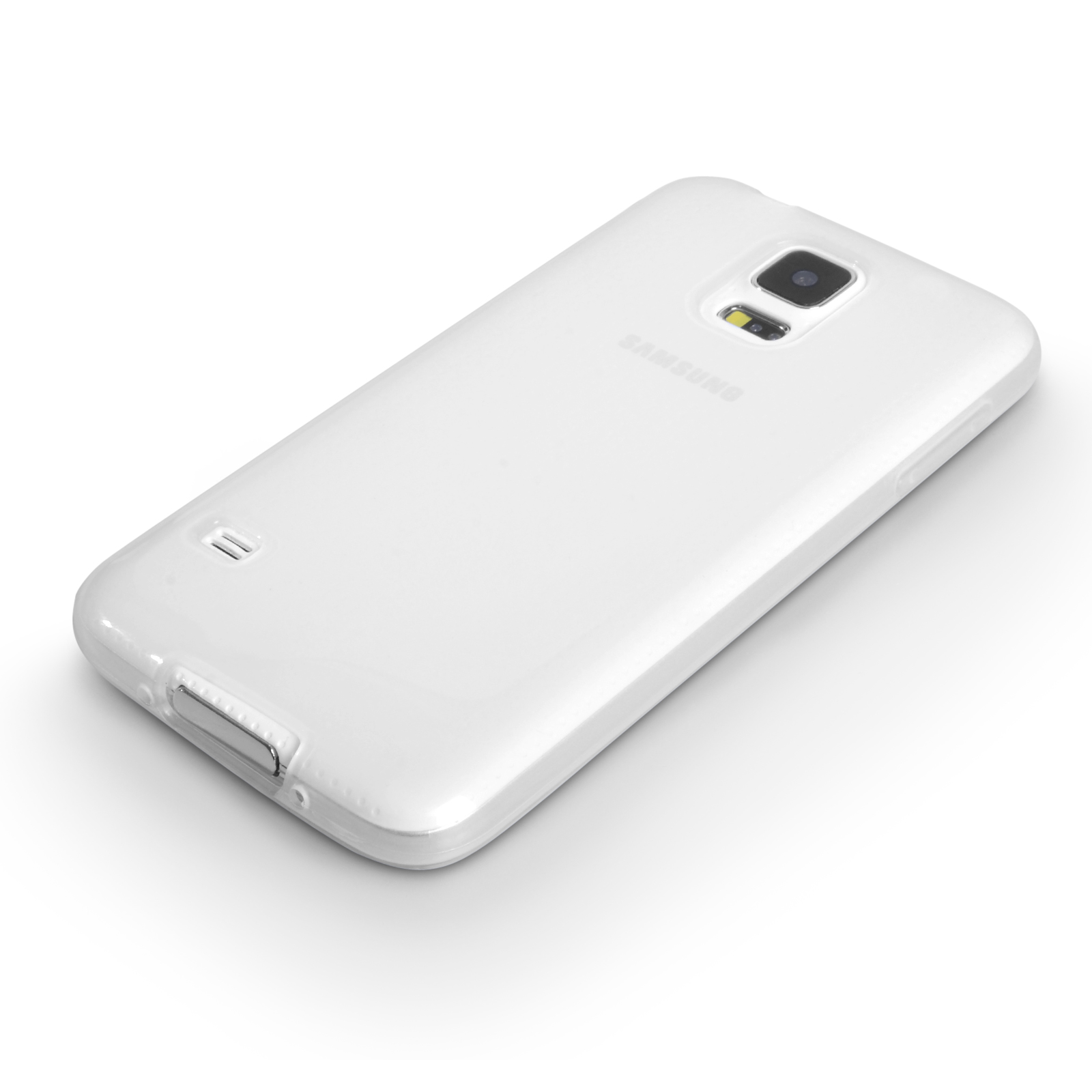 YouSave Accessories Samsung Galaxy S5 Silicone Gel Case - Clear